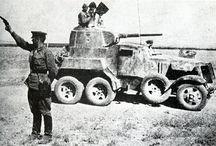 Armoured Cars / Samochody pancerne