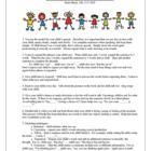 Parent communication/handouts