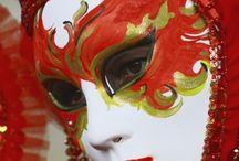 mascaras carnaval pintadas