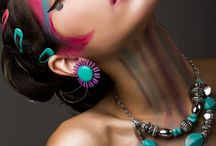 Makillaje moda color