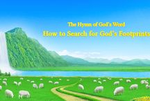 """The Hymn of God's Word """"How to Search for God's Footprints""""   The Church of Almighty God"""