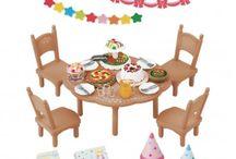 Sylvanian Families Zestaw na Przyjęcie / Wyjątkowe zabawki dla dzieci marki Sylvanian Families