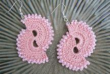 Crochet earrings and more