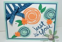 Swirly Scribbles cards