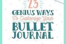 BulletJournalling ideas