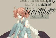 Anime quote by michiko