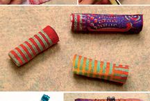 Textile . beads