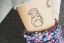 ideas tatuajes totoro
