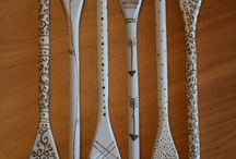 woodcarved spoons