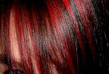 Rouge/violine