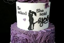 Lila torták