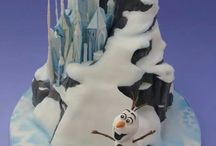 Frozen , cake,cupcakes and cookies / by Galyna's edible art
