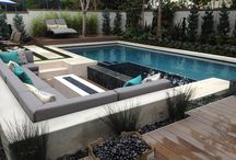 Contemporary Pool and Deck