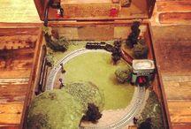 Trains! / by Julie Ibach