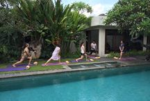 Tone in the Pool: Water Pilates / Take to the water for fun and fitness! We offer a variety of Aquatic Exercise . Have fun with your favorite friends or family and feel great !   Thank you @陳潤香 and party for spending your fun holiday with us!   www.theamala.com
