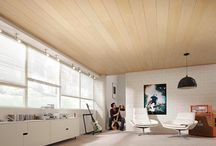 ΞΥΛΙΝΕΣ ΕΠΕΝΔΥΣΕΙΣ / Ξύλινη Επένδυση για ταβάνι σε ντεκαπέ λευκή απόχρωση. Δίνει λάμψη και φρεσκάδα στο χώρο. www.koligas.gr