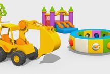Cartoni animati: giochi divertenti per bambini
