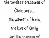 Sentiments / Christmas& birthdays
