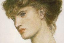 Artist - Dante Gabriel Rossetti / by Jeanne Medina