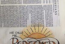 bible art jurneling