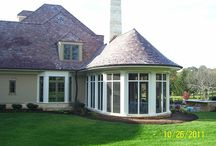 Exterior Homes / Flex Trim provides flexible moulding solutions for the exterior of the house also.