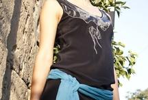 My Handmade Retro Dress / 100% silk original dress by Elisaveta Sivas, retro style, handmade embroidery Model: Irina Gallyamova Photography: Elena Ilyuchyk www.elisavetasivas.com / by Elisaveta Sivas
