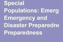 Be Ready! Emergency and Disaster Prep