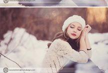 Зимние фотосессии (women)