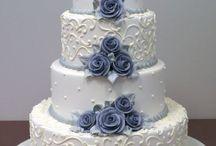 Bryllups- og forlovelseskaker +cupcakes