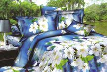 Posteľné obliečky s kvetmi / Nádherné obliečky s motívmi kvetov