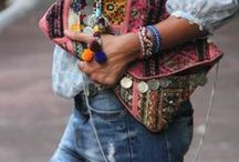 Bohemian clutches / The bohemian clutch! The fashion statement. One of a kind and unique!