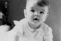 Famous people when they were young.... / by Nancy Pugh