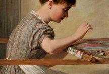 вышивальщицы embroiderers