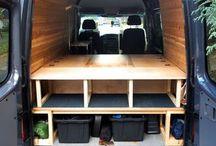 Building campervan