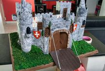 castillo  maqueta medieval