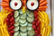zöldség szobrok