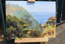 Amalfi coast Plein Air inspiration