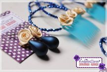 Aros de Flamencas - Complementos AmapolasMoras / Aros de perlas en gota, flores, cuentas y mas!