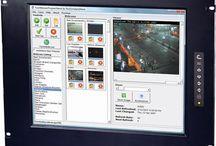 DVI Rackmount LCD