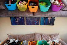 Arranging and organizing