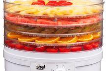 Dehydrators,juicers and yogurt makers