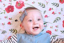 Enfants et bébés avec des bandeaux et barrettes Mlle Léonie
