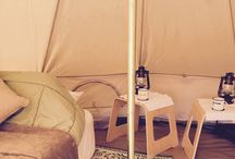 Weekend glamping getaways / Hire a luxury fully furnished bell tent at your location on the NSW Coffs Coast