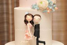 Wedding Cake Inspiration / Wedding cakes that inspire me