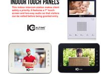 """INTERCOM SYSTEMS / ICRealtime has cutting-edge INDOOR TOUCH PANELS that make safety a priority. Our model IH-D7210 features a 7"""" touch screen and two-way audio so that visitors can be vetted before being granted entry. The snapshot function and the ability to make emergency calls directly from the unit add layers of safety and convenience."""
