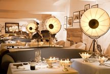 FORTUNY LAMPS FOR CAPRI PALACE HOTEL