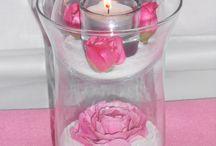 Αννα Χαριτοπουλου Πλουμη / Διακοσμηση Αρωματικων Κεριων