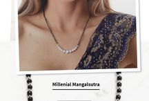 Mangalsutra / Beautiful, simple mangalsutra. Hopefully I will get to wear one someday