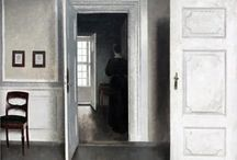 Vilhelm Hammershoi Danish Painter / Light