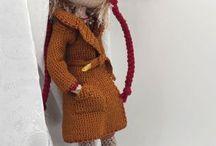 crochet doll handmade / Saját készítésű horgolt babáim